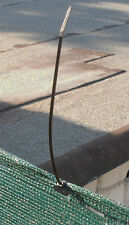 Kabelbinder schwarz zur Befestigung von Sichtschutz , Zaunblende