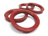 73.1 - 57.1 Spigot Rings, Set of 4, Hub Rings, TUV Approved, VW AUDI SEAT SKODA