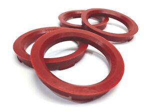 73.1 - 57.1 Spigot Rings, Set of 4, Hub Rings, TUV Approved, VW AUDI SEAT SKODA