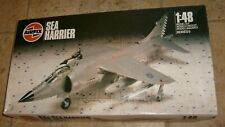 VINTAGE AIRFIX SEA HARRIER FRS NAVY JET FIGHTER MODEL AIRPLANE MILITARY NEW 1/48