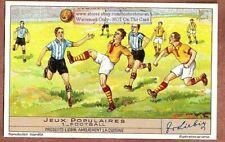 Soccer Football Sports c1930s Trade Ad Card