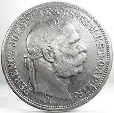 Hungary-Austria (Franz Joseph I) 5 Corone 1907