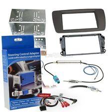 Radio kit de integracion auto 1 din diafragma adaptador adecuado para VW Fox