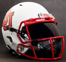 UTAH UTES NCAA Gameday REPLICA Football Helmet w/ OAKLEY Eye Shield