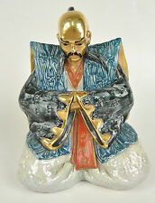 Edoardo Tasca Capodimonte Italy Japanese Samurai Warrior Figure Porcelain