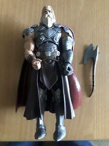 Marvel Legends Allfather Odin BAF 100% Complete .