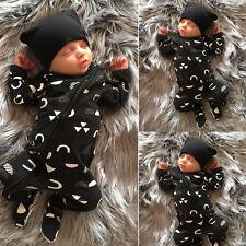 Bébé Nouveau-né Garçon D'enfants Vêtements Chaude Combinaison