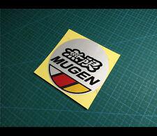 無限 MUGEN Fuel Cap POWER CIVIC TYPE R Honda JDM Reflective car decal Sticker #001