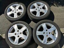 Mazda AluFelgen 6Jx15H2 ET 52,5 auf Sommerreifen 195/50 R15
