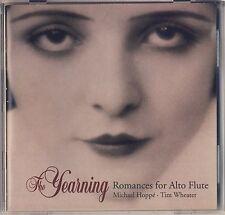 Hoppe - Wheater: Yearning - Romances for Alto Flute (Teldec) Like New