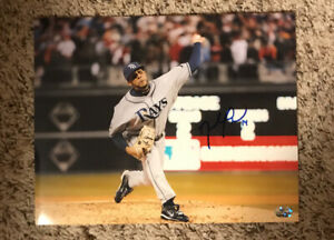 David Price Signed Autograph Auto 8x10 Photo Tampa Bay Rays Los Angeles Dodgers