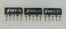 3 Stück  BB313  Kapazitätsdioden Kapazitätsdiode dreifach - hochkapazitiv für AM
