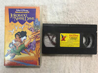 EL JOROBADO DE NOTREDAME WALT DISNEY LOS CLASICOS CINTA VHS TAPE HUNCHBACK NOTRE