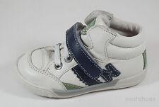 NOEL Infant Boys Mini nasket en Cuir Blanc Baskets UK 5.5 EU 22 US 6 RRP £ 45.00