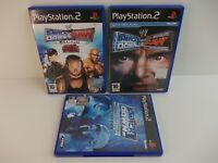 WWE SMACKDOWN 3 GAME BUNDLE  PLAYSTATION 2  (TESTED AND WORKING)