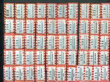 Einschreiben -Belege: 50 verschiedene R-Zettel PLZ-Bereich 6660-6669 Zweibrücken