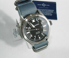 Brand New Jack Mason Aviation Watch | Black Dial | Gray Nylon Strap $195.00