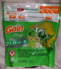 *New* Gain Flings Original Laundry Detergent Pacs 16 ct Package