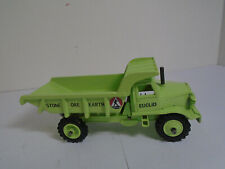 DINKY SUPERTOYS #965 EUCLID REAR DUMP TRUCK RESTORED IN EUCLID LIME GREEN