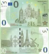 Biljet billet zero 0 Euro Memo - Delft (019)