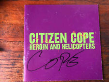 Citizen Cope Heroin and Helicopters cd with signed cd booklet