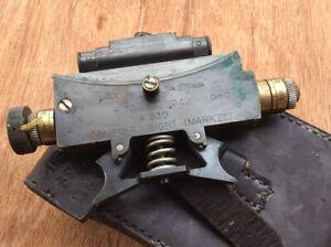 Australian WW2 Mk 4 Clinometer Sight 1942