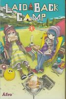 Laid-Back Camp 1 Lot of Seinen Manga, English, 13+, Afro