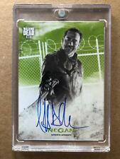 WALKING DEAD HUNTERS & HUNTED AUTOGRAPH CARD JEFFREY DEAN MORGAN AS NEGAN 15/25