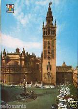 POSTAL SEVILLA GIRALDA Y CATEDRAL POSTCARD POSTKARTE                     CC02786