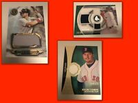 Boston Red Sox 10 Card Lot - Guaranteed Auto Or Relic - Devers, Clemens & More