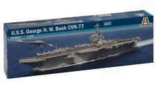 Italeri 1 720 5534 USS George H W Bush Cvn-77 Model Ship Kit