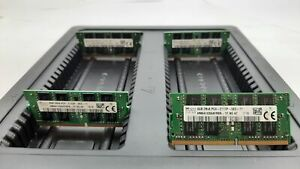 LOT 4 HYNIX HMA41GS6AFR8N-TF 4GB DDR4 PC4-2133P-S 17000 NONECC SODIMM MEMORY RAM