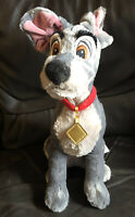 Disney Store Stamped Tramp From Lady And The Tramp Soft Toy Plush Beanie 15 Inch