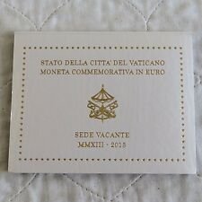 VATICAN CITY 2013 VACANT PAPAL SEAT 2 EURO - MINT PACK