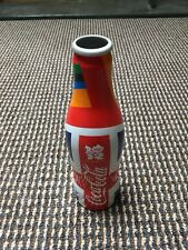 Limited Edition London 2012 Olympic Coca Cola Metal Bottle