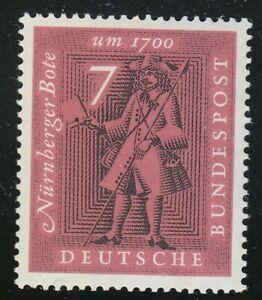 Germany 1961 MNH Mi 365 Sc 842 Messenger,Nuremberg.Postal history **Letter
