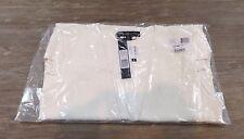 NWT Elizabeth & James Athena White 100% Silk Splitside Vest Womens Size 4 $395