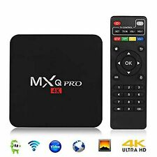 4K Android TV Box WIFI- LOADED APPS- PLUG in- WATCH-MOVIES,TV- ANYTIME-FREE.
