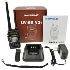 Baofeng Black UV-5R V2+ Dual-Band 136-174/400-520 MHz Ham Radio Two-Way FM Radio