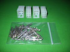 6 Pin Molex Connector Kit 2 Sets With18 22 Awg 093 Pins Free Hanging 0093