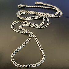 Collana catenina in acciaio inox uomo donna girocollo catena twister 3 mm