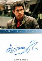 Lost in Space Season 1 Netflix Ajay Friese as Vijay Dhar Autograph Card