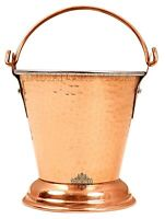 Steel Copper Bucket Serveware for Serving Dishes Tableware 550 ml