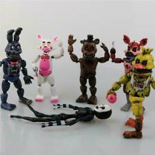 6 Pcs / Set Figures Kids Gift Toys Five Nights At Freddy's FNAF Freddy Action