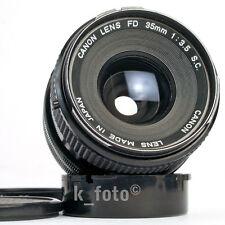 Canon FD 3,5 / 35 S.C.
