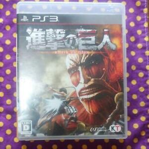 PS3 Attack on Titan Shingeki no Kyojin 81156 Japanese ver from Japan