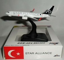 WT4738015 Turkish Star Alliance B737-800 TC-JFI Witty 1:400 diecast model