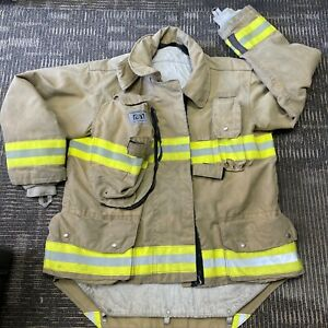Firefighters Turnouts Firemen rescue clothing. Coat-Jacket and Pants-Trousers.