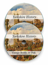 Rare Yorkshire History Genealogy Books Records DVD Dialect Sheffield Leeds 272
