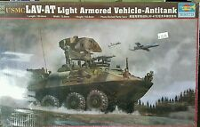 Trumpeter 1/35 USMC LAV-AT Light Armored Vehicle - Antitank  - Factory Sealed
